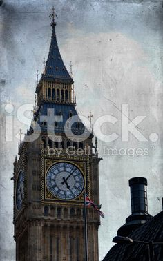 Old London royalty-free stock photo Vintage London, Old London, Red Bus, London Photos, Antique Photos, Image Now, Big Ben, Royalty Free Stock Photos, Colour