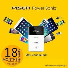 Berbagai pilihan powerbank dari Pisen bisa dibeli langsung di www.bukalapak.com/papazami  Atau mau order cepat? Silahkan hubungi: HP/WA/TG: 0815-1100-6400 BBM: 5E2E9F7F LINE ID: papazami  #pisen #pisenindonesia #pisenmart #pisenstore #pisenshop #pisenonline #powerbank #papazami #tokopapazami #onlineshop