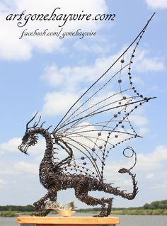 "Haywire Dragon Art!  Meet ""Tiamat"""