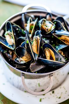 In Season - September. Mussels are so versatile. They can be used as starters or mains, with a simple sauce or something more stand out. Just don't forget the bread!