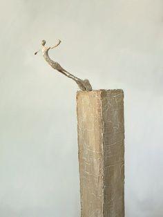 nope, just stretching my wings. Sculptures Céramiques, Art Sculpture, Abstract Sculpture, Surrealism Sculpture, Wire Art, Art Object, Oeuvre D'art, Ceramic Art, Metal Art