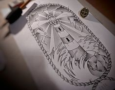 """Check out new work on my @Behance portfolio: """"Lighthouse""""…"""