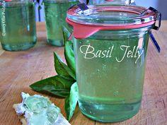 Olla-Podrida: Fresh Basil Jelly