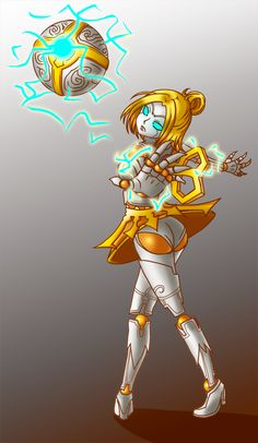 Orianna-lol by NokaChan.deviantart.com on @deviantART