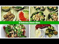 10 Dinners Ideas with Recipes - YouTube