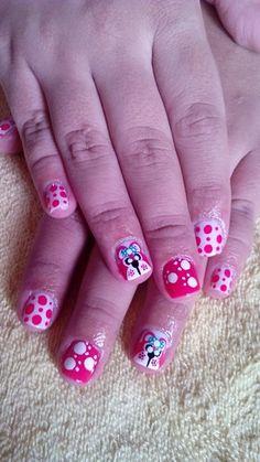 Ositos Nails, Beauty, Finger Nails, Ongles, Beauty Illustration, Nail, Nail Manicure