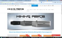 Mining Asics