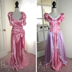 Rapunzel costume semi-homemade but with purple dress not pink Disney Dress Up, Disney Princess Dresses, Princess Costumes, Cosplay Dress, Cosplay Outfits, Cosplay Costumes, Halloween Costumes, Diy Halloween, Cosplay Diy