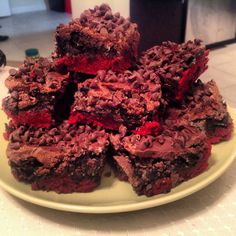 Round 2 = Redemption! Red Velvet Truffle Brownies | Liberty On Less