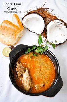 kaari chawal chicken curry