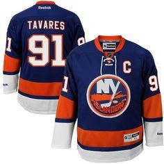 Men's New York Islanders John Tavares Reebok Royal Premier Jersey