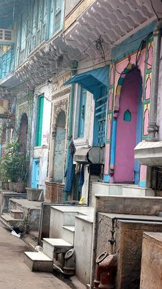 Street in New Delhi, India