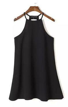 Basic Sleeveless Mini Dress $14.99
