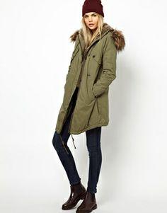 Image 4 ofParka London Levina Parka with Detachable Faux Fur Trim
