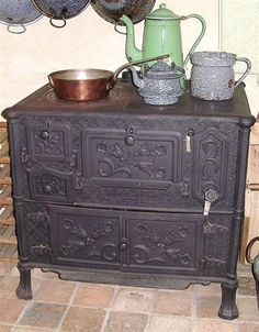 Old French stove