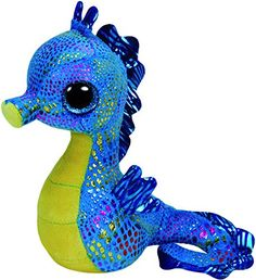 Ty Beanie Boo 7-inch Neptune Seahorse: Amazon.co.uk: Toys & Games