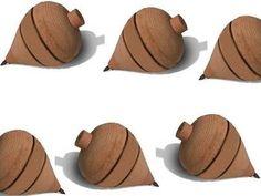 Pião madeira brinquedo cordão fieira jogos presentes