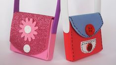 Accesorios para Fofuchas - Foamy doll accessories ., via YouTube.