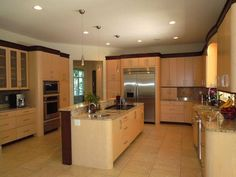 Thermador & Bosch appliances in this dream kitchen!