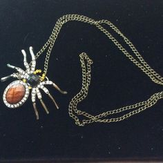 Gorgeous Vintage look Spider Necklace🔴HUGE SALE🔴 Get ready for fall👻👹👽🤖 Jewelry Necklaces