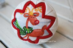 using your scraps to make ornaments like this. quilted-ornament-pattern-snow-globe. Patterns found at http://theornamentgirl.com/blog/no-sew-quilted-ball-ornament-pattern/