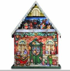 The San Francisco Music Box Company has always been special to me. I love the Musical Christmas Advent House #sfballetnutcracker