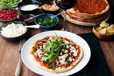 Recipe: lahmacun (turkish pizza) I hope those of you who celebrate Thanksgiving had a nice one this past week. Turkish Pizza Recipes, Personal Pizza, Gluten Free Pizza, How To Make Pizza, Lamb Recipes, Middle Eastern Recipes, Dinner Is Served, Recipe Using, So Little Time