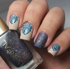 The Clockwise Nail Polish: L'Oréal Too Dimensional? & Cuticle Stamping Nail Art