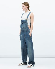 Effortless Everyday Style: Overalls.... Zara