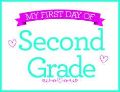 Free 2nd Grade Printable from Michaels!