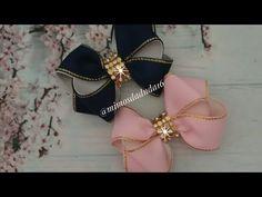 YouTube Ribbon Hair Bows, Diy Hair Bows, Diy Bow, Bow Hair Clips, Felt Headband, Baby Headbands, Hair Bow Supplies, Hair Bow Tutorial, Christian Jewelry