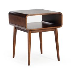 Belham Living Carter Mid Century Modern Side Table | Hayneedle