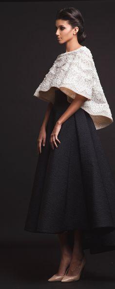 Krikor Jabotian Capsule 2016 - Haute couture - http://fr.orientpalms.com/Krikor-Jabotian-6467