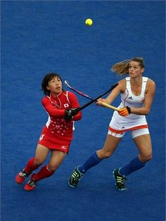 Japan go up against the Netherlands in the women's Hockey#