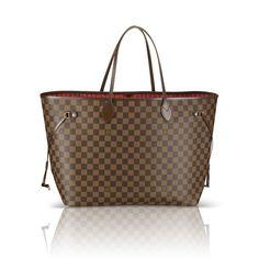 Louis Vuitton Neverfull GM DAMIER EBENE EBONY