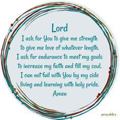 Prayer: I Ask – Prayables