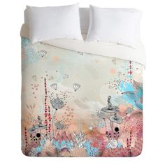 Look what I found on Peach & Aqua Iveta Abolina Crystal Lake Duvet Cover by DENY Designs King Duvet Set, Queen Duvet, Duvet Sets, Duvet Cover Sets, Down Comforter, Mattress Brands, Space Furniture, Baby Clothes Shops, Home Decor Accessories