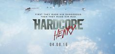 Hardcore Henry is a new upcoming film that takes the viewer on an experience of watching the movie in a first person POV action film.