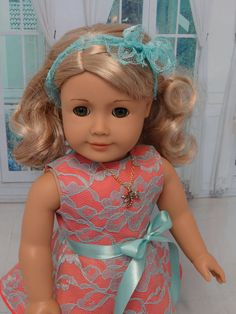 Summer+Beauty+sleeveless+dress+for+American+by+cupcakecutiepie,+$52.00