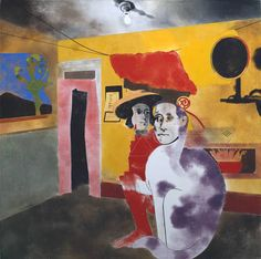R.B. Kitaj • The Man of the Woods and the Cat of the Mountains, 1973