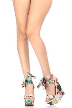 Rose Floral Faux Leather Ankle Tie Wedges @ Cicihot Wedges Shoes Store:Wedge Shoes,Wedge Boots,Wedge Heels,Wedge Sandals,Dress Shoes,Summer Shoes,Spring Shoes,Prom Shoes,Women's Wedge Shoes,Wedge Platforms Shoes,floral wedges