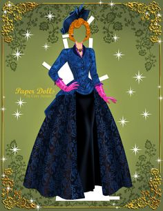 Disney Cinderella (2015) #paperdolls 11 of 11 | by Cory Jensen.
