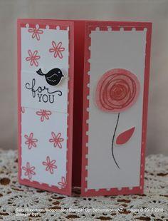 Sally Robertson On Stage Display Stamper NZ 2016.  Hello Flirty Flamingo.