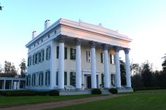 Millford Plantation, Pinewood, Sumter County, South Carolina.  Built in 1839.  General Edward E. Potter of the Union army spared the house, because the architect who designed and built it, was his brother, Nathanial P. Potter.