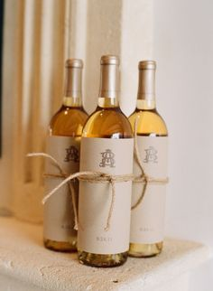 Personalized Wine - great for wedding welcome bags