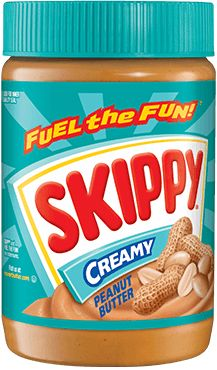 SKIPPY® Creamy Peanut Butter. Crunchy, Natural, and other versions also approved. Feingold stage 1.