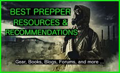Come check out the best prepper gear, books, blogs (with the most recent posts from each), forums, and facebook pages - all handpicked by me.