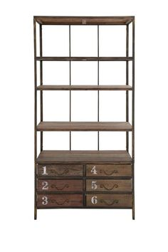 Wood Shelf with Drawer by Rustic Vintage on @HauteLook