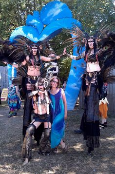Attended the Oregon Country Fair!