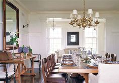 Mix and Match Colonial with Vintage Home Interior Accessorizing ...